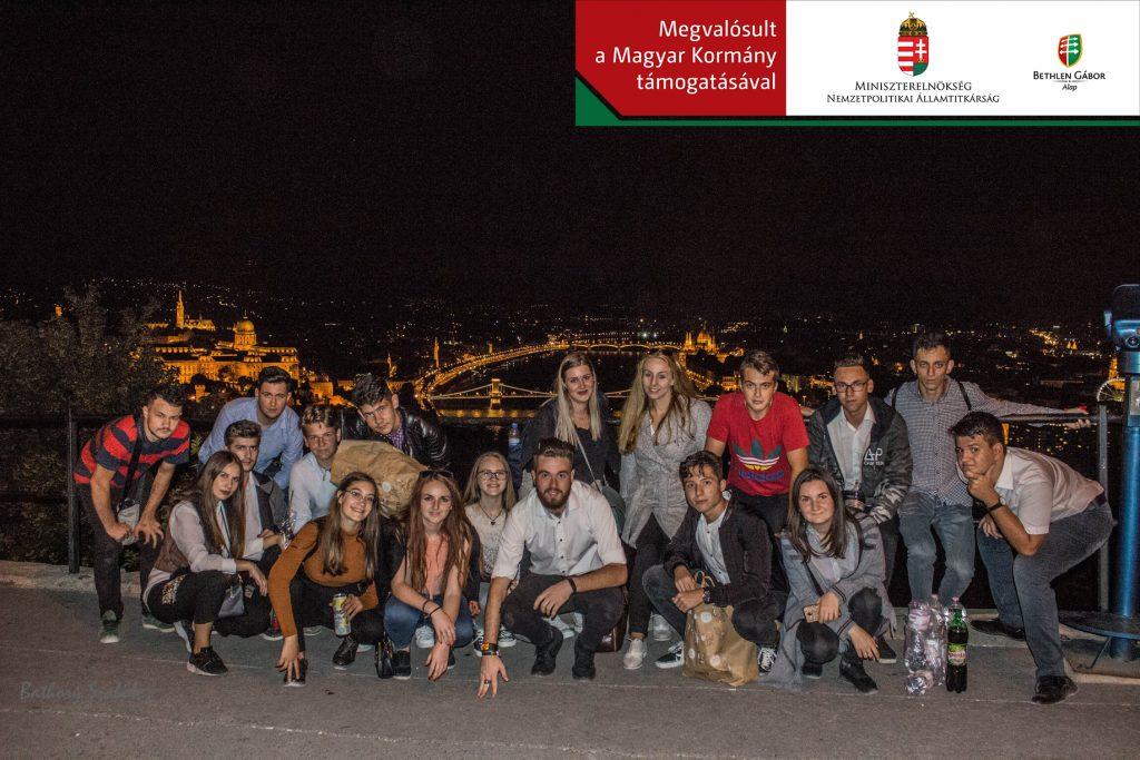 Magyarországra látogatott a fiatal besztercei csapat